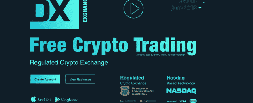 NASDAQ-uruchamia nową giełdę kryptowalut w przyszłym miesiącu