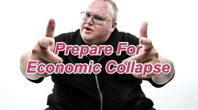"""Kim Dotcom ostrzega przed kryzysem ekonomicznym- mówi """"Kup złoto i Bitcoin"""""""