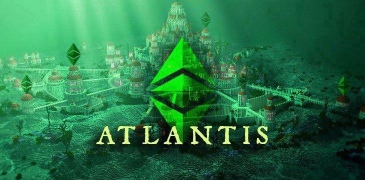 Aktywny widelec twardy Ethereum Classic Atlantis